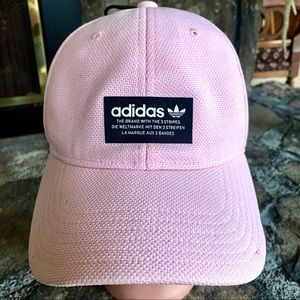 Adidas Pink and Black Adjustable Hat NWT